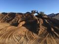 Levering af sand til Fredericia